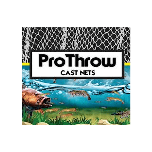 Pro Throw Mono Top Pocket Cast Net with Chain